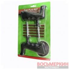 Наборы для ремонта бескамерных шин (шило, игла, 5 шнуров)