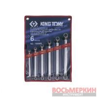 Набор ключей накидных 45 град 6 единиц 1606MR KingTony