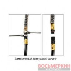 Шланг воздушный на катушке удлинитель пневматический 20атм 8 x 12 мм 15м KHAP0815E Toptul
