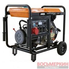 Дизельный генератор 4,5/5,0кВт трехфазный 84-611 Miol