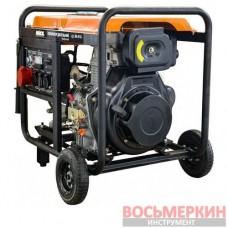 Дизельный генератор 5,5/6,0 кВт трехфазный 84-616 Miol