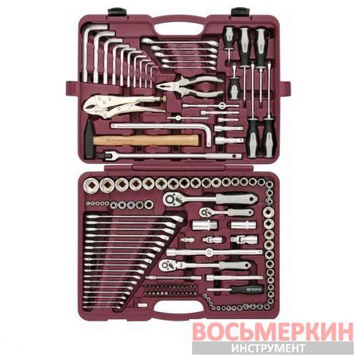 Набор инструмента универсальный 1/4 3/8 1/2 142 предмета UTS0142 Thorvik