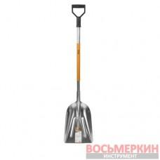 Усиленная совковая лопата с алюминиевой ручкой KT-V2025 Bradas