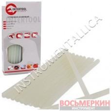 Комплект прозрачных клеевых стержней 11.2мм*200мм RT-1020 Intertool