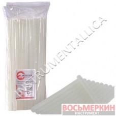 Комплект прозрачных клеевых стержней 11.2мм*300мм, уп. 1кг RT-1026 Intertool