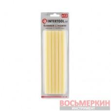 Комплект желтых клеевых стержней 11.2мм*200мм, 12шт. RT-1021 Intertool