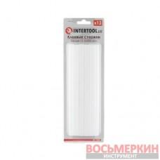 Комплект белых клеевых стержней 11.2мм*200мм, 12шт. RT-1022 Intertool