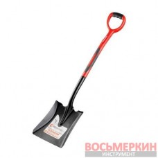 Лопата совковая ручка из фибергласса 238х282х1050 мм FT-2014 Intertool