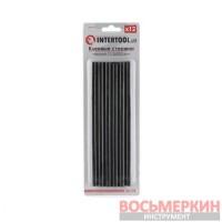 Комплект черных клеевых стержней 11.2мм*200мм, 12 шт. RT-1023 Intertool