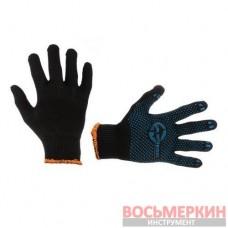Перчатка трикотажная цвет черный SP-0129 Intertool