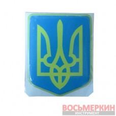 Эмблема силиконовая Герб 5 см х 6 см