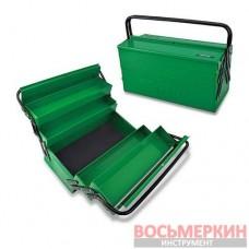 Ящик для инструмента 5 секций 470 мм x 220 мм x 350 мм TBAC0502 Toptul