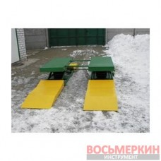 Подъемник пневматический ножничный ПП-1 для шиномонтажа 2т, Украина