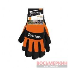 Перчатки рабочие TECH BLACK размер 10 RWTBC10 Bradas