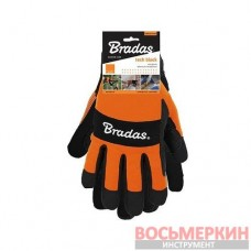 Перчатки рабочие TECH BLACK размер 9 RWTBC9 Bradas