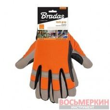 Перчатки рабочие TECH GREY размер 9 RWTGY9 Bradas