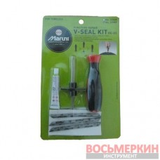 Набор для затяжки шнуров шило игла клей 3 шнура Maruni VK-03