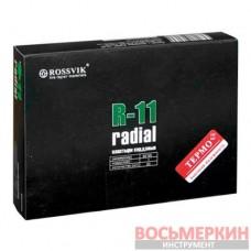 Радиальный пластырь R 11 термо 65 х 95 мм 1 слой корда Россвик Rossvik