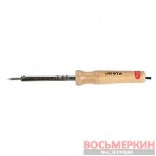 Паяльник с деревянной ручкой, 40 Вт, 220 В AET-6006CD Licota