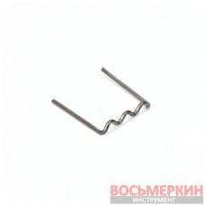 Скоба U образная 0,8 мм для ремонта пластика 100 шт. ATG-2700-2A Licota