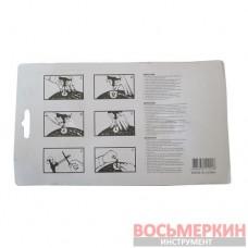 Набор для затяжки шнуров шило, игла, клей и 5 шнуров VVS 11-008