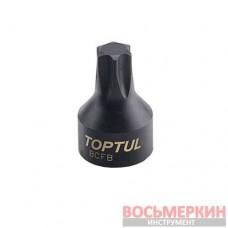 Головка TORX T25 1/4 (цельная) BCFB0825 TOPTUL