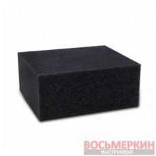 Губка черная химостойкая 120 х 100 х 50 мм IT-0453 Grass