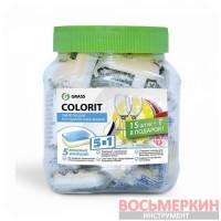 Таблетки для посудомоечных машин Colorit 5 в 1 16 шт 125112 Grass