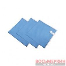 Ткань микрофибра 50 см х70 см MF200.1 XL Helome зеленый, голубой, для стекла Германия