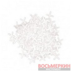Набор дистанционных крестиков для плитки 8.0 мм 30 штук HT-0358 Intertool