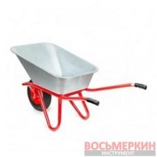 Тачка садово-строительная, 85л., 150кг, 1 пневмоколесо с подшипником 15 (4.00-8) WB-0815 Intertool
