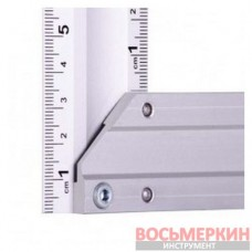 Угольник строительный алюминиевый 450мм MT-2066 Intertool