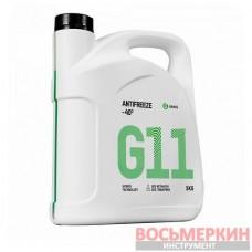 Жидкость охлаждающая низкозамерзающая Антифриз G11 -40 5 кг 110330 Grass