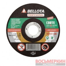 Диск отрезной по камню Professional 115 х 1 мм 50322-115 Bellota