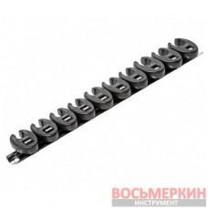 Набор разрезных ключей односторонних 10шт 10-19мм GAAR1001 1605 JTC