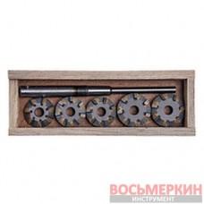 Набор зенкеров для сёдел клапанов ВАЗ 2110 (16 V) (9 резцов) (Харьков) ШАР10-9РХ