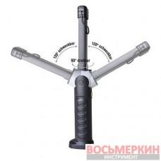 Фонарь светодиодный LED аккумуляторный 8 и 1 SMD-LED G.I. Kraft
