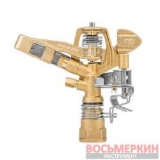 Регулируемый ороситель пульсирующий сектор 360° 35 м РВ 3/4 GKV604424SGW Bradas