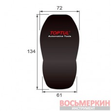 Накидка на сиденье защитная 720 х 1340 х 610 мм JCS-0102 Toptul