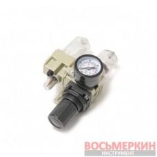 Блок подготовки воздуха мини для пневмосистемы фильтр-регулятор и лубрикатор RF-AC2010-02 Rock Force