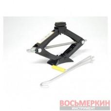 Домкрат механический ромб 1.2т с резиновой накладкой h min 100мм h max 350мм F-ST-103А.King Forsage