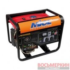 Генератор бензиновый мощность 2,8 кВт четырёхтактный 83-250 Miol