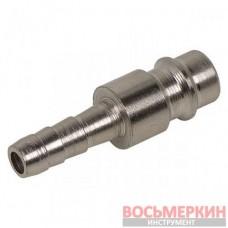 Быстроразъемное соединение папа - елочка на шланг 6 мм 81-249 Miol