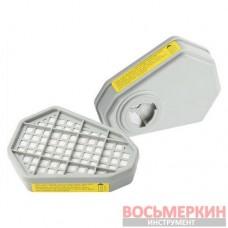 Газовый фильтр для респиратора органический 8-ми угольный 91-136 Miol