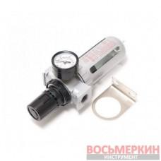 Фильтр влагоотделитель c индикатором давления для пневмосистемы 1/4 RF-AFR802 Rock Force