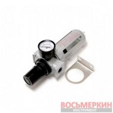 Фильтр влагоотделитель c индикатором давления для пневмосистемы 3/8 RF-AFR803 Rock Force