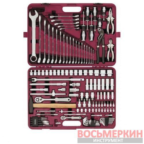 Набор инструмента универсальный 1/4 1/2 128 предметов UTS0128 Thorvik