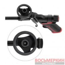 Пистолет для монтажной пены с полным тефлоновым покрытием профессиональный и 4 насадки PT-0610 Intertool