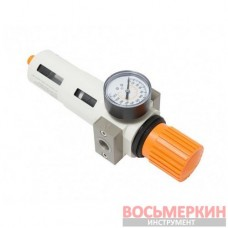 Фильтр-регулятор с индикатором давления для пневмосистемы Profi 1/2 RF-702412 Rock Force