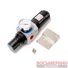 Фильтр-регулятор с индикатором давления для пневмосистем Profi 3/8 RF-EW4000-03 Rock Force